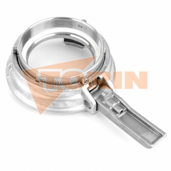 Outlet elbow 90° with flange DN 150 stainless steel