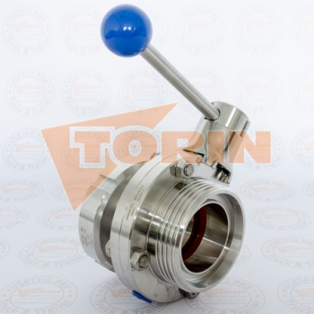 Reducer DN 80 ROSISTA union nut 3 external thread
