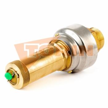 Compresor manguera de aire caliente DN 100 inox