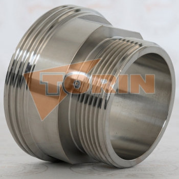 Compressor hot air hose DN 100 stainless steel