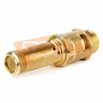 Blank cover TW female coupling VK 50 stainless steel