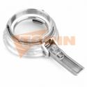 Butterfly valve DN 150 FELDBINDER stainless steel