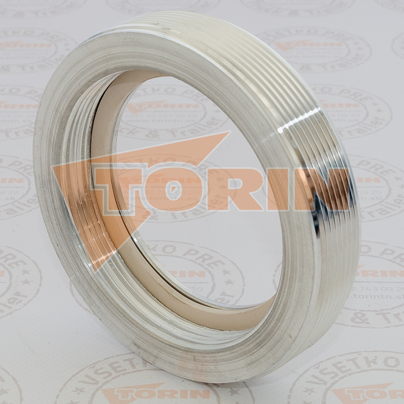 Blank cover TW male coupling MK 50 stainless steel