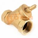 Codo de descarga 90° con brida DN 150 inox