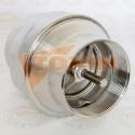 Tesnění klapkového ventilu KRAFT DN 150 bílé
