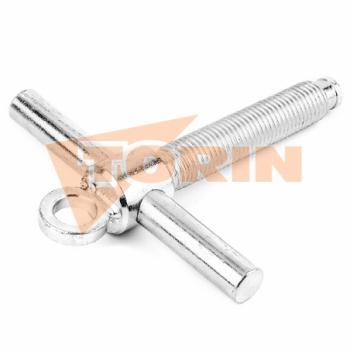 Pipe nipple external thread 1 1/2 steel
