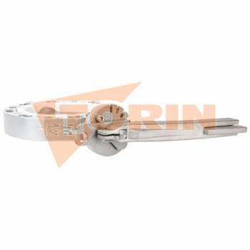 Hose coupling STORZ B DN 75 steel insert