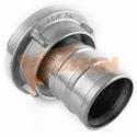 Anschweißnippel 2 1/2 aluminium