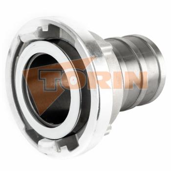 Предохранительный хомут муфт СТОРЗ А+Б стальной жёлтый