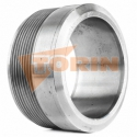 TW female coupling MK 80 clamping ring lever stainless steel