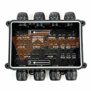 Предохранительный хомут муфт СТОРЗ А+А стальной жёлтый