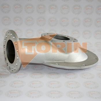 Tesnění klapkového ventilu BURGMER DN 80 bílé