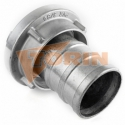 Boquilla roscada de tubo RE/RE 3 acero