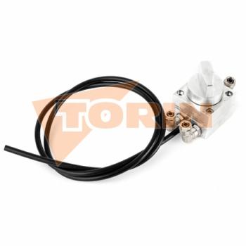 Kolano 90° z gwintem zewnętrznym 3 aluminium