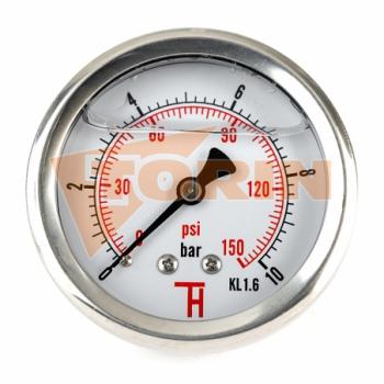 Разгрузочная труба 90° с молочной резьбой 4 нержавеющая сталь