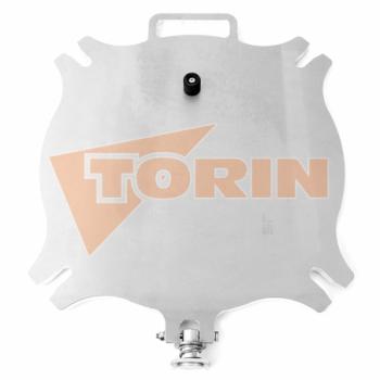 Codo de descarga 90° 4 RE/4 Rosista inox
