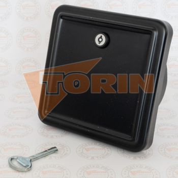 Delivery hose for abrasive materials DN 100 ALFAGOMMA black