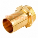 Front branch for air line with additional 2 thread nipple FELDBINDER