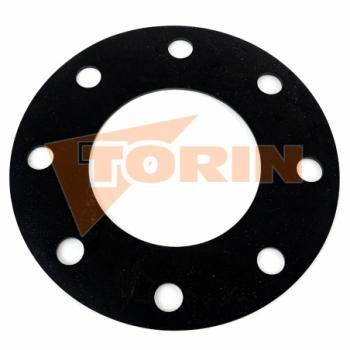 Wagon coupling seal DN 80