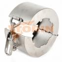 Maneta para válvula de mariposa DN 150 SW16 FELDBINDER
