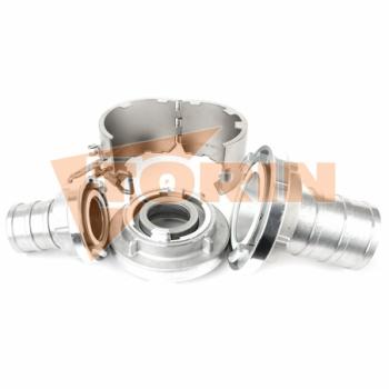 Tesnění klapkového ventilu BURGMER DN 200 bílé