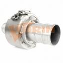 Tesnenie klapkového ventila BURGMER DN 200 biele