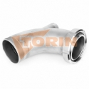 Delivery hose for foodstuff DN 75 white FELDBINDER