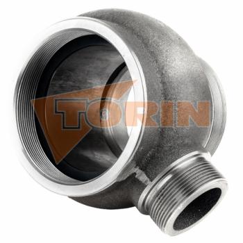 Delivery hose for foodstuff DN 75 white FELDBINDER