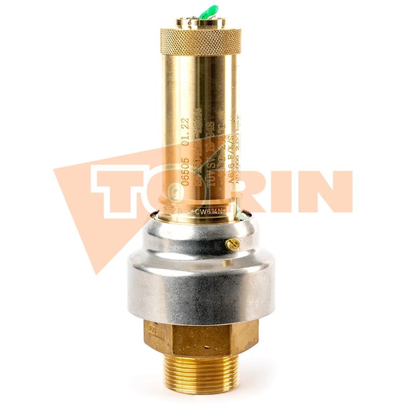 Termometr 0-250°C 1/2 mocowanie dolne