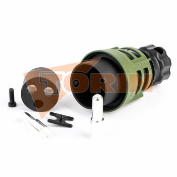 Écrou de moyeu de roue SAF M72x1,5 droit