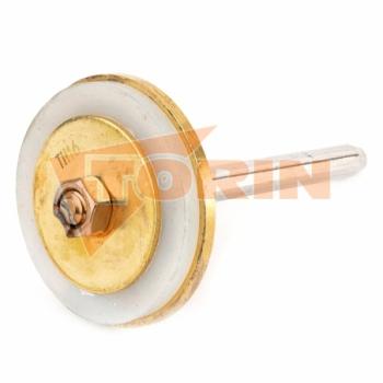 Schlauchrohrhalter 2-fach DN 200 mit anschlussblech
