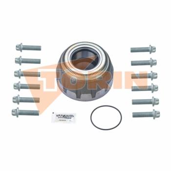 Pinch valve AKO DN 100 sleeve black