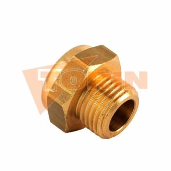 Hexagonal nut with clamping part M10 FELDBINDER