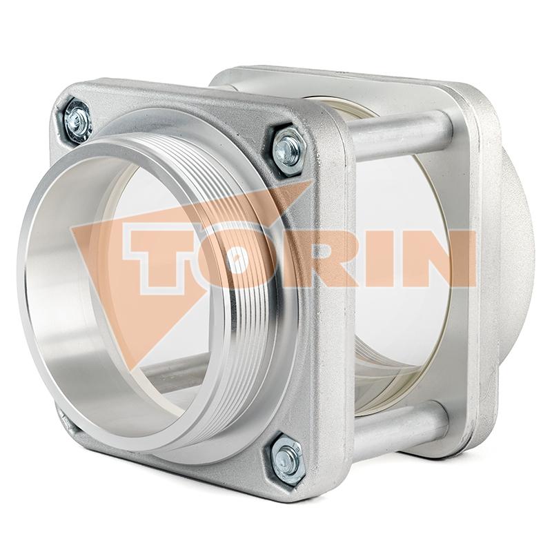 Zpětný ventil šikmý 45° DN 80 3