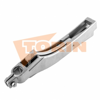 Clamp fastening with locking handle 125x30 mm FELDBINDER