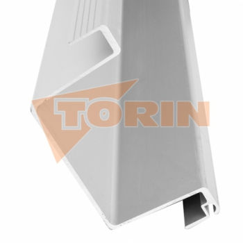 Clamp fastening with locking handle 125x30 mm FELDBINDER