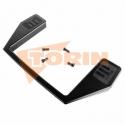 Obturador de tensión con mando de maneta 125x30 mm FELDBINDER