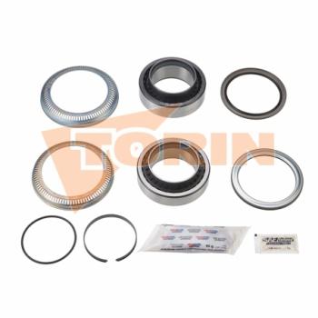 Luz lateral de posición amarillo LED con escuadra de 90°