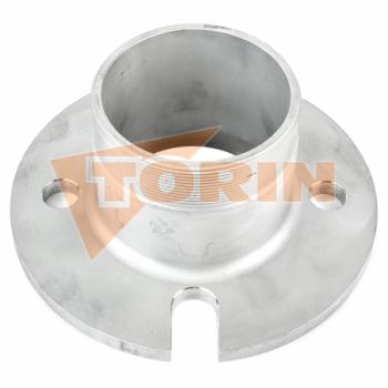 Приварной патрубок с наружной резьбой 2 нержавеющая сталь