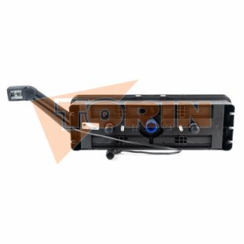 Compresseur tube coudé a 90° avec raccord fileté 2 1/2