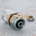 Inclined seat check valve 45° DN 25 1