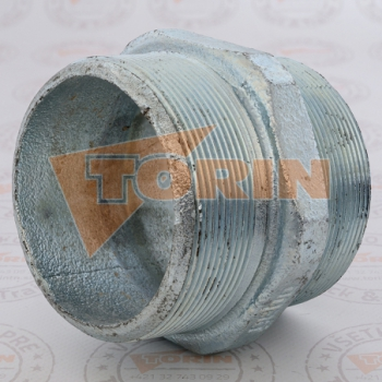 Strainer DN 100 mesh width 8 mm stainless steel