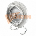 3/2 way vibrator valve with press button