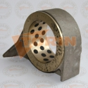 Válvula de retención de disco gestra con plato inox DN 50