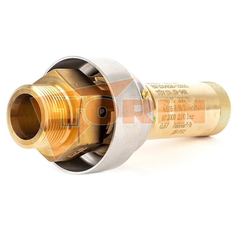 Ventil klapkový DN 125 FELDBINDER bez páky
