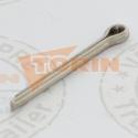 Butterfly valve DN 80 PTFE EBRO