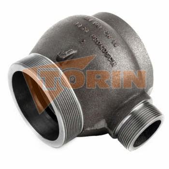TW female coupling MK 100 stainless steel complete