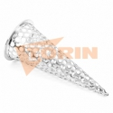 TW female coupling MK 50 castellated ring stainless steel